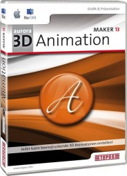 Aurora 3D Animation Maker 13 MAC OS-X